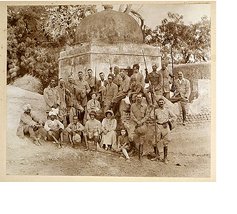 British colonials at play in 1930s India